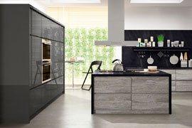 Кухни с покрытием из глянца ALViC