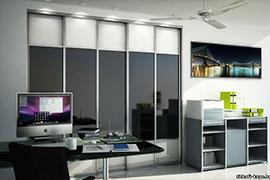 Шкафы-купе в офис