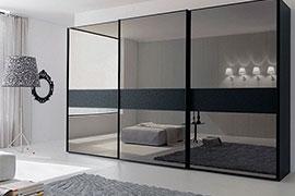Зеркальные шкафы-купе