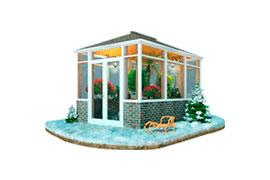 Окна в зимний сад