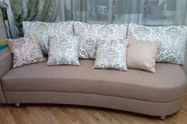 Реставрация двухместного дивана