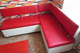Реставрация кухонного дивана