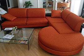 Перетяжка модульного дивана