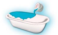 Восстановление ванны акриловой эмалью