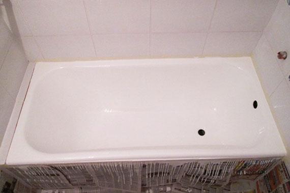 Ванна после реставрации - фото 14