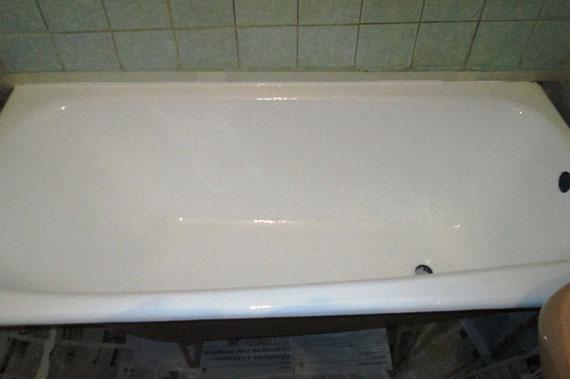 Ванна после реставрации - фото 15