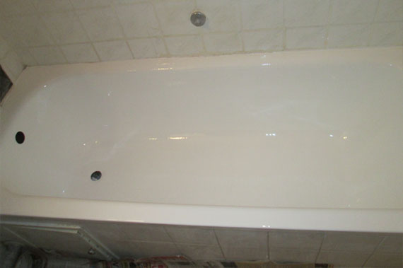 Ванна после реставрации - фото 17