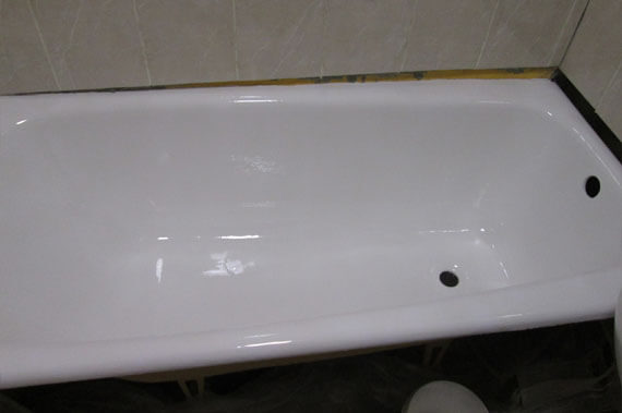 Ванна после реставрации - фото 22