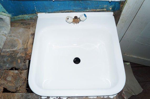Умывальник после реставрации - фото 3